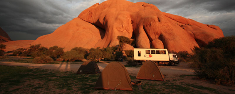 camping namibie