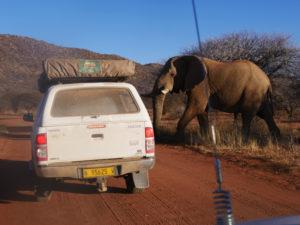 conduire en namibie