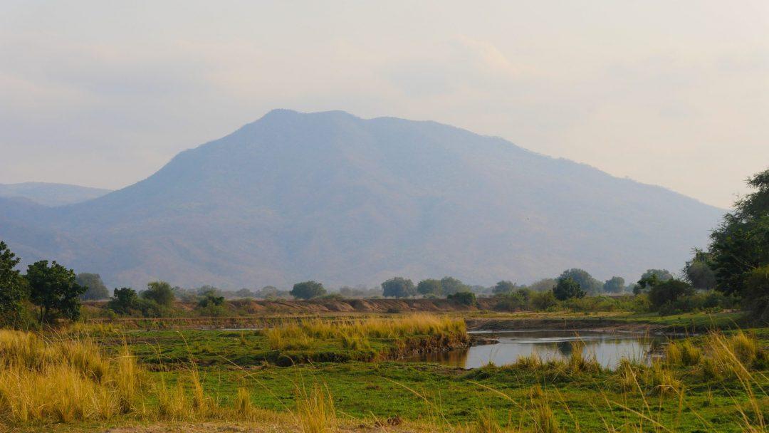 ZAMBIA Lower Zambezi Landscape