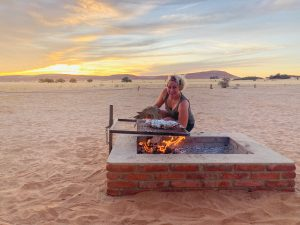 voyageur Namibie